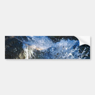Refreshingly different waterfall bumper sticker