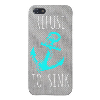 Refuse To Sink iPhone 5 Case