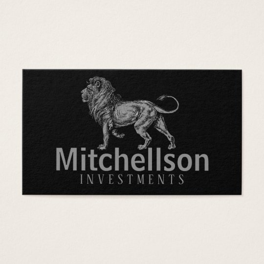 Regal Lion II Business Card