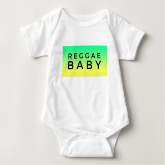 """REGGAE BABY"" All-In-One Baby Bodysuit"