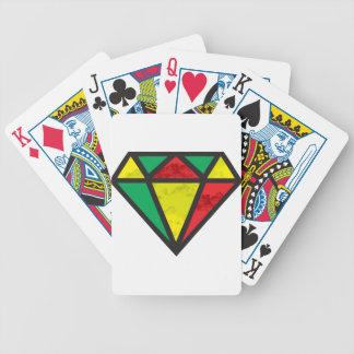 Reggae Diamond Bicycle Playing Cards