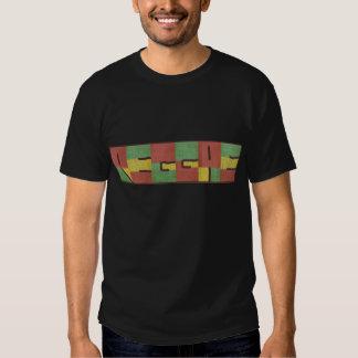 Reggae in burlap shirt
