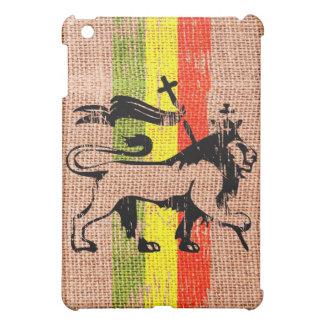 Reggae lion iPad mini cover