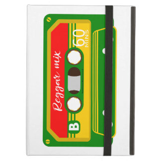 Reggae mix tape cassette eighties cover for iPad air