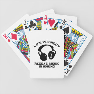 Reggae Music designs Poker Deck