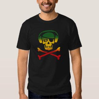 Reggae Music Pirate T-Shirt