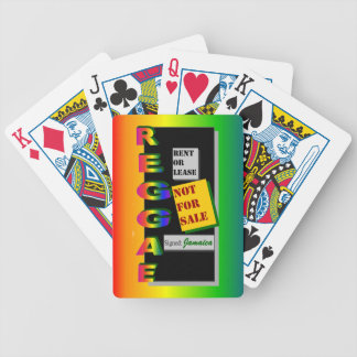 'Reggae Not For Sale' Bicycle Playing Cards