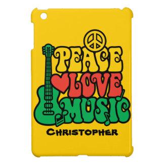 Reggae Peace Love Music Cover For The iPad Mini