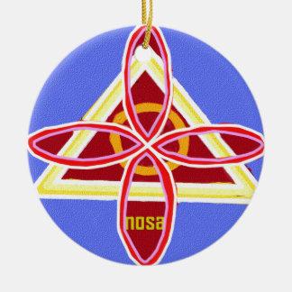 Reiki Karuna Ommantra : NOSA Christmas Ornament
