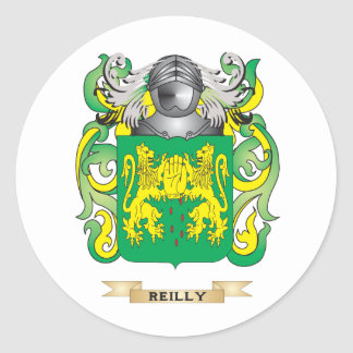 Reilly Coat of Arms (Family Crest) Round Sticker