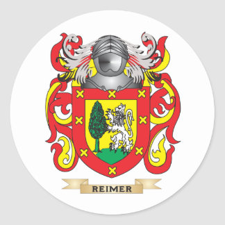 Reimer Coat of Arms (Family Crest) Round Sticker