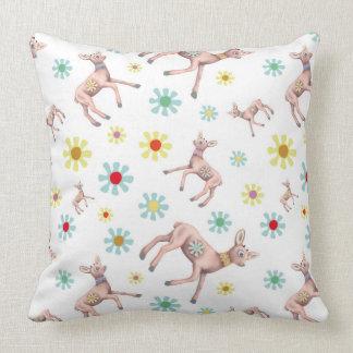 Reindeer Pattern Pillow