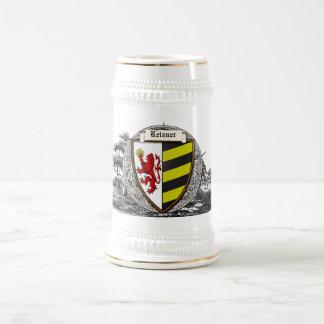 Reisner (Baden-Württemberg) Family Arms Beer Stein