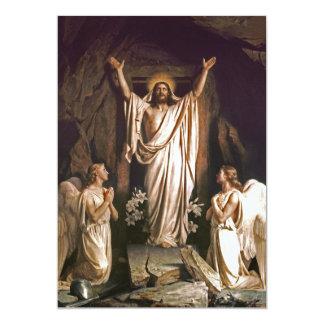 Rejoice. Fine Art Customizable Easter Card Personalized Invites