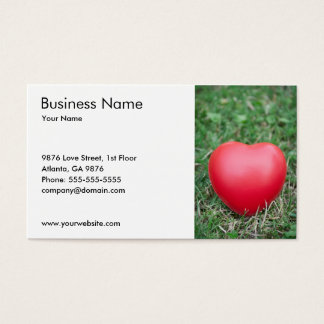Relationship Consultant Business Card Template