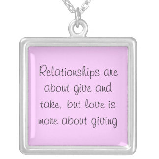 Relationship Love necklace