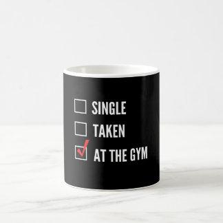 Relationship Status Gym Coffee Mug
