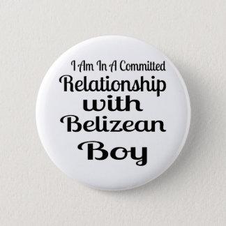 Relationship With Belizean Boy 6 Cm Round Badge