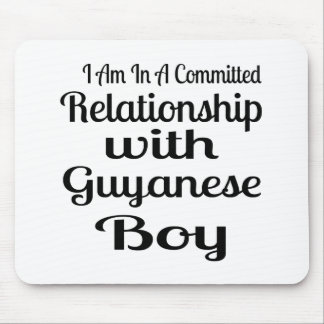 Relationship With Guyanese Boy Mouse Pad