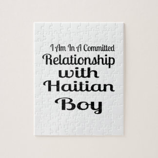 Relationship With Haitian Boy Jigsaw Puzzle