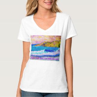 relax and feel the salt air zen shirt