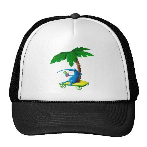 Relax on The Beach Mesh Hats