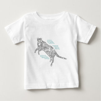 Relaxed Cat Baby T-Shirt