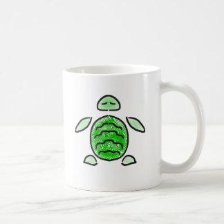 Relaxed Sea Turtle Cutie Coffee Mug