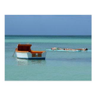 Relaxing at Sea Postcard