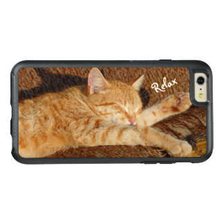 Relaxing Cat OtterBox iPhone 6/6s Plus Case