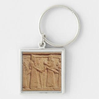 Relief depicting King Shalmaneser III Key Ring