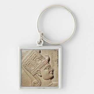 Relief depicting the head of a young prince key ring