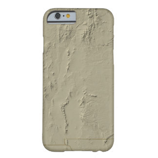 Relief Map of New Mexico Barely There iPhone 6 Case