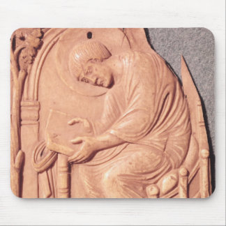 Relief of a monk studying, from Hotel de Mouse Pad