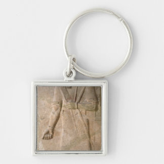 Relief of an Assyrian warrior Key Ring