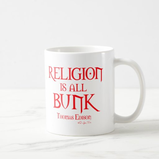 Religion is All Bunk 2 Mugs