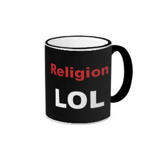 Religion LOL Ringer Mug