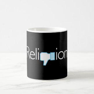 Religion? Thumbs Down! Coffee Mug