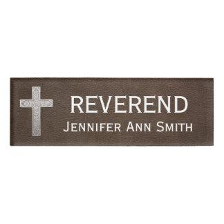 Religious Honorific Title Reverend Name Tag