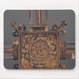 Reliquary cross, detail of a phoenix mouse pad