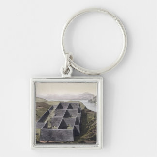 Remains of an Inca palace at Callo, Peru, from 'Le Key Ring