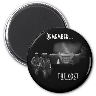 Remember...the cost 6 cm round magnet