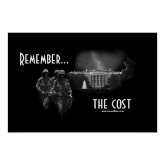 Remember...the cost poster