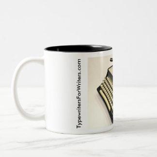 Remington 666 typewriter Two-Tone mug