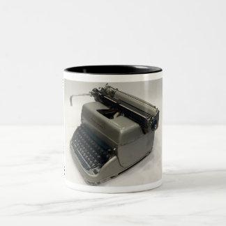 Remington Super-Riter typewriter Two-Tone Mug