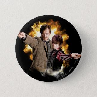 Remus Lupin and Nymphadora Tonks-Lupin 6 Cm Round Badge