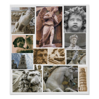 Renaissance architecture and sculpture POSTER