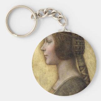 Renaissance Woman Key Ring