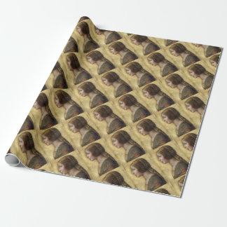 Renaissance Woman Wrapping Paper