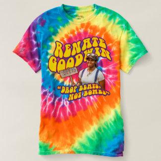 """Renate Goodwin """"Drop Beats, Not Bombs"""" Tie Dye Shi Shirts"""